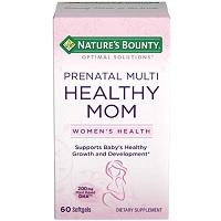 Nature's Bounty Healthy Mom Prenatal Multi Review