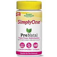 SimplyOne PreNatal Multivitamin Review